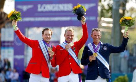 Wir sind Europameister – André Thieme reitet zum Sieg