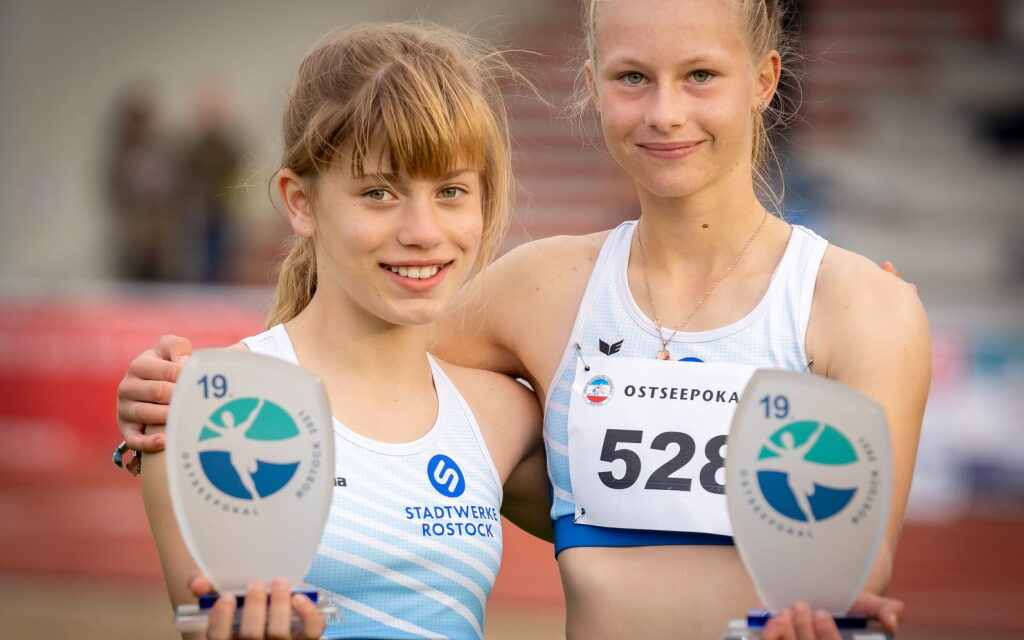 19. Ostseepokal im Rostocker Leichtathletikstadion