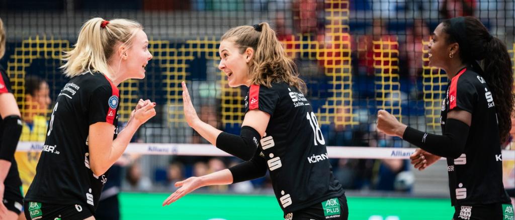 SPORT1 überträgt Supercup zwischen Dresdner SC und SSC Palmberg Schwerin