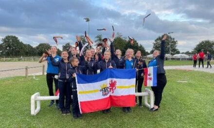 Deutsche Jugendmeisterschaften im Voltigieren in Timmel