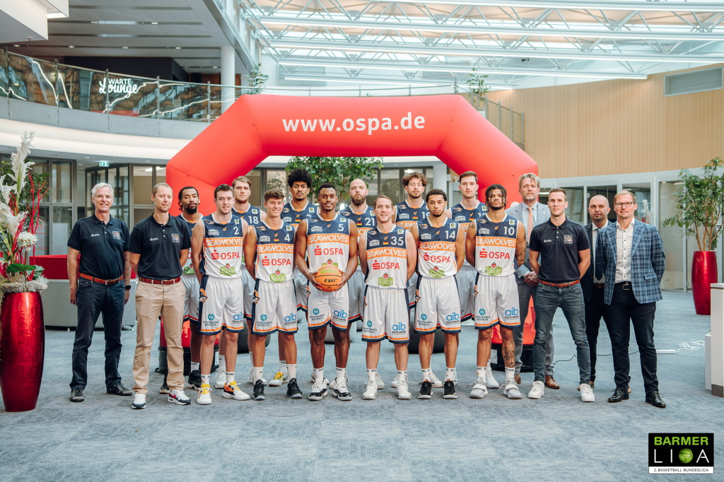 Rostock Seawolves: Teamfoto 2021/2022