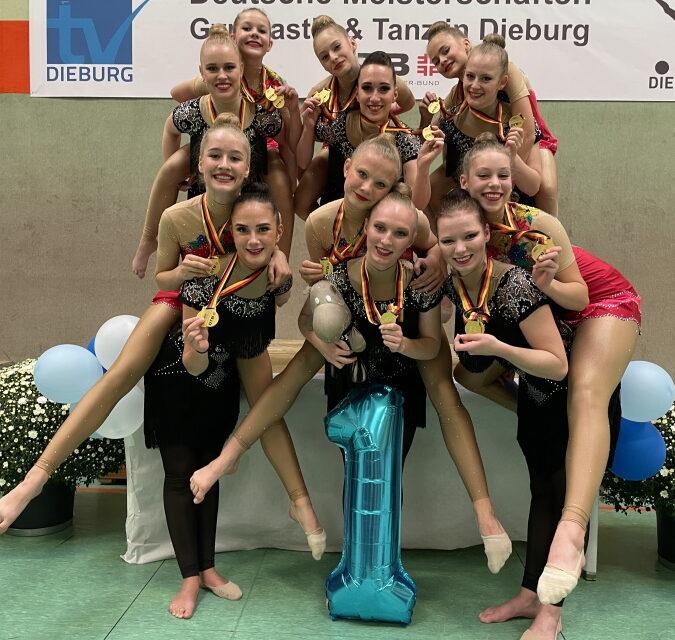 Deutsche Meisterschaften Gymnastik und Tanz in Dieburg