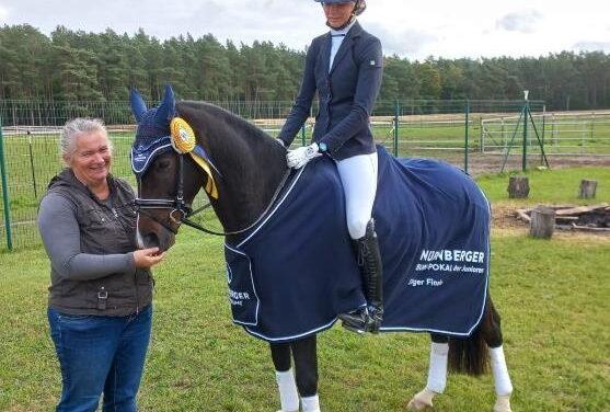 Stella Baranowski gewinnt NÜRNBERGER Burgpokal der Junioren
